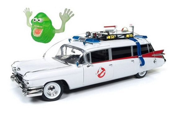Ghostbusters Ecto-1 Cadillac 1959 1:18 Auto World