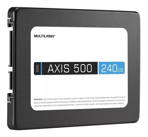 Hd Ssd Axis 500 2.5 Polegadas 240 Gb Multilaser Ss200 Outlet