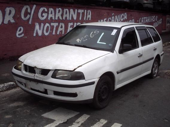 Sucata Vw Parati G3 Em Partes Motor Cambio Mi 1.8 C/ Nota F