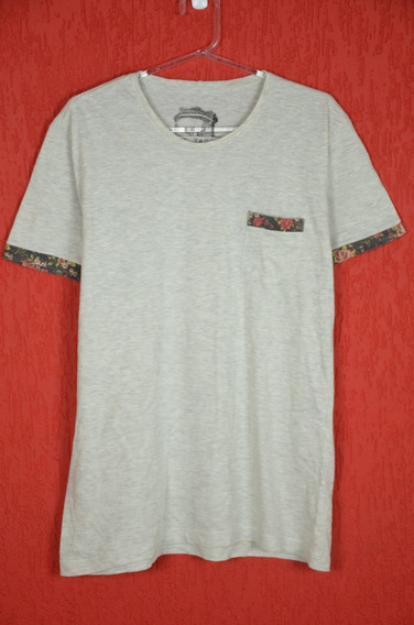 Camiseta Hermoso Compadre Bege Florida Tamanho M