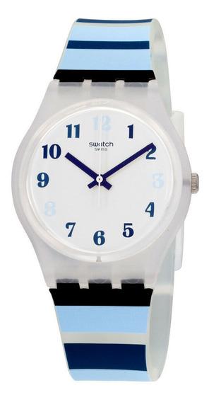 Relógio Masculino Swatch Ge275 Pulseira De Silicone