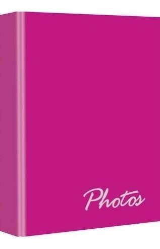 Album De Fotos 3712-6 Pink 10x15 P/ 100 Fotos