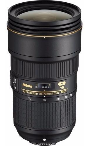 Nikon Af-s 24-70mm F/2.8e Ed Vr Lente 24-70
