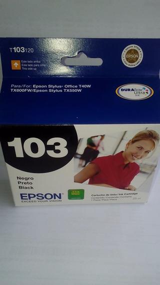Cartuchos Epson 103 Para Impresoras T40w, Tx600fw, Tx550w Or