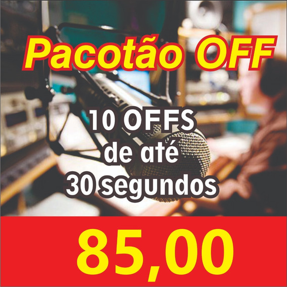 Pacotão De Offs Só 85,00