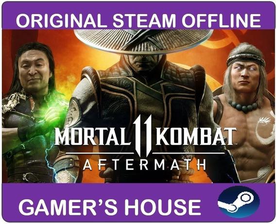 Mortal Kombat 11 Aftermath + Shao Kan Steam Offline Pc
