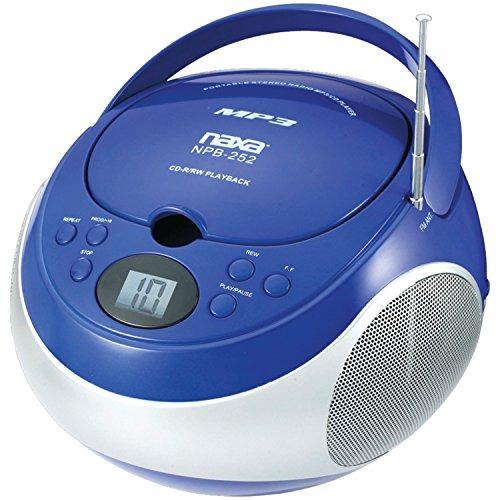 Imagen 1 de 1 de Naxa Electronics  Reproductor Mp3cd Portatil Con Radio Amfm