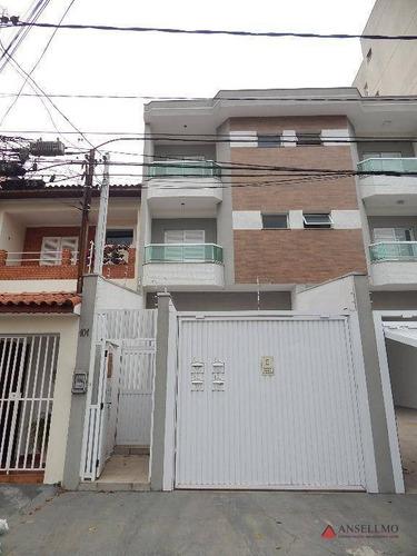 Apartamento À Venda, 90 M² Por R$ 430.000,00 - Santa Maria - Santo André/sp - Ap2069