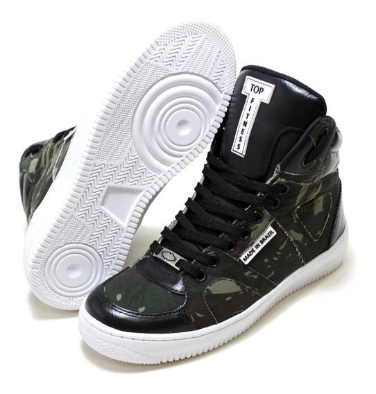 Sneaker Botinha Academia Exercicios Caminhada Treino Promoça