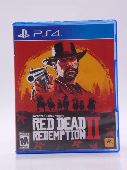 Red Dead Reemption 2 Play Station 4 Original Mídia Física