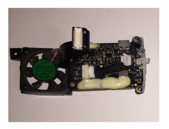 Placa Slot Sd Com Cooler Do Gimbal Drone Dji Phantom 4