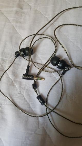 Fone De Ouvido Xduuo Ep1 Ñ Tin Audio Kz Shure Jbl Beat