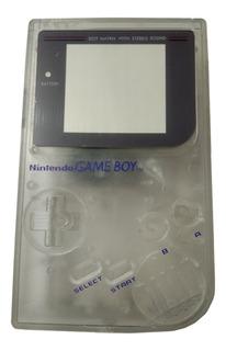Carcasa Transparente Game Boy Clasico Tabique