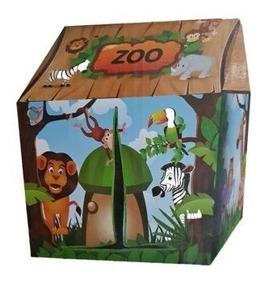 Barraca Infantil Casinha Divertida Animais Zoo