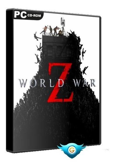World War Z (guerra Mundial Z) Jogo Pc Dvd Frete 8 Reais