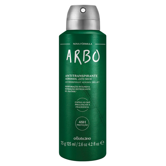 Arbo Desodorante Antitranspirante Aerosol, 75g/125ml