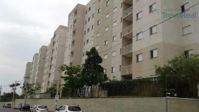 Apartamento Com 2 Dormitórios À Venda, 62 M² Por R$ 270.000 - Jardim Jurema - Valinhos/sp - Ap0814