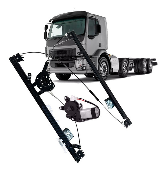 Maquina Vidro Eletr C Motor Volvo Vm 220 260 270 310 330