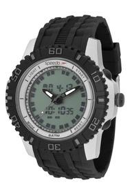 Relógio Speedo Masculino Anadigi 81155g0evnp2 C/ Nota Fiscal