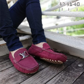 Zapato Tipo Mocasin Lv Louis Vuitton Caballero