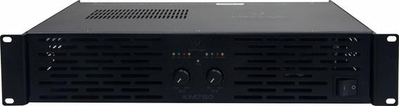 Amplificador Potência 800w Km750 Behringer Profissional Nfe