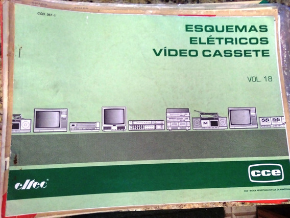 Esquema Elétrico Cce Tv, Video E Disc Laiser