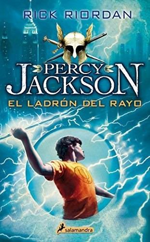 Percy Jackson 1 - El Ladrón Del Rayo - Rick Riordan