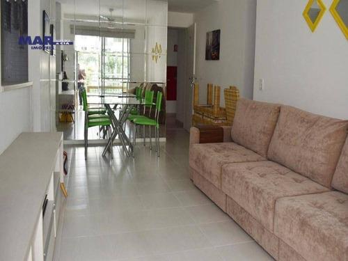 Imagem 1 de 9 de Apartamento Residencial À Venda, Vila Alzira, Guarujá - . - Ap9934