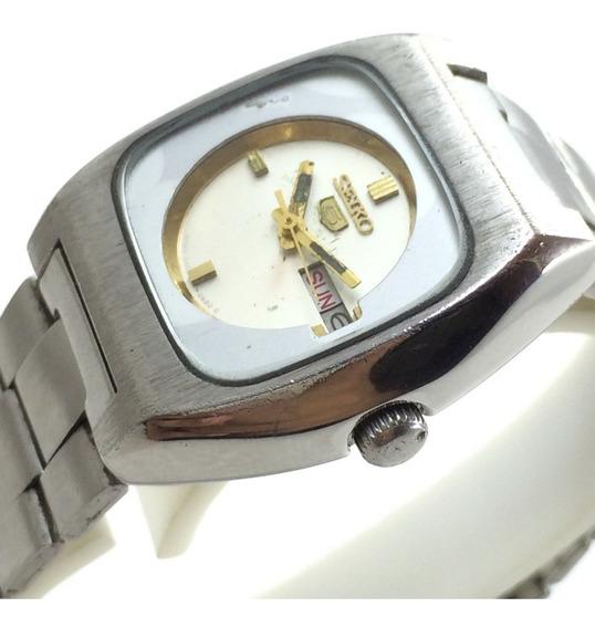 Relógio De Pulso Vintage Seiko 5 Fem Aut 26mm Feito No Japão