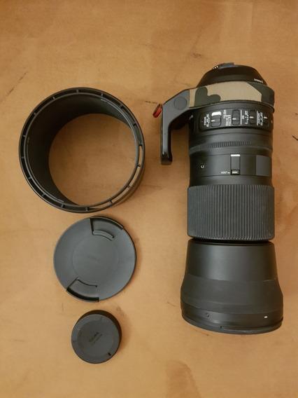 Sigma 150-600mm F5-6.3 Dg Os Hsm Para Nikon F Mount
