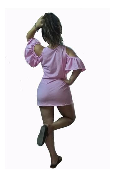 Vestido Remeron Playa Diario Sin Hombos Varios Colores Ts
