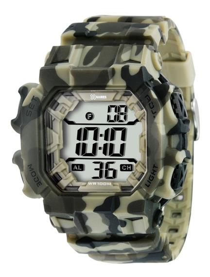 Relógio X-games Masculino Digital Quadrado Xgppd085 Bxef