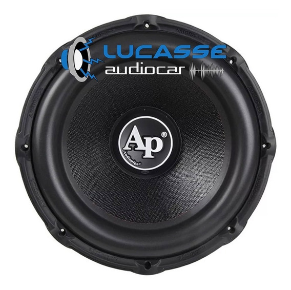 Subwoofer Audiopipe 15 900 Rms 1800 Watts Bobina Doble 4 Ohm