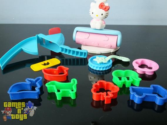 Kit De Forminhas Hello Kitty Para Modelar Massinha