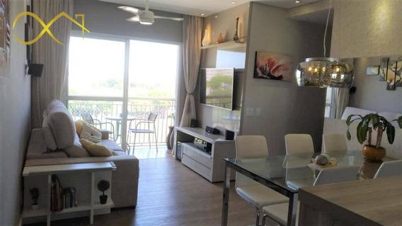Apartamento Com 3 Dormitórios À Venda E Locação, 72 M² - Premiere Morumbi - Paulínia/sp - Ap0193