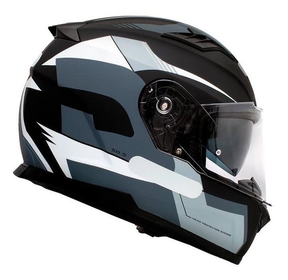 Capacete Givi 50.5 Sport Preto/cinza/branco Fosco S2r