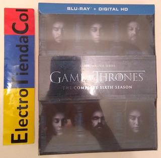 Game Of Thrones 6 Sexta Temporada Blu-ray Original Sellada