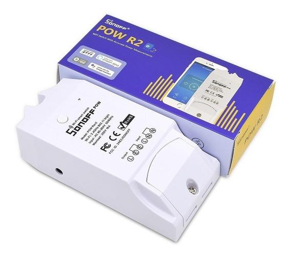Sonoff Pow R2 Novo Modelo Mede O Consumo De Energia Wifi