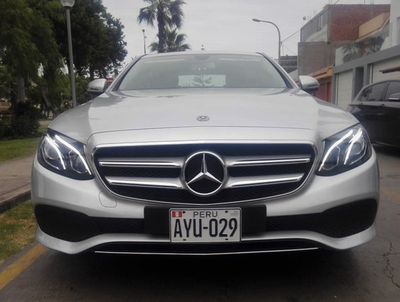 Mercedes-benz Clase E Año 2017 3000kms Facturable
