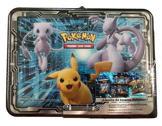 Pokemon Collector Chest Armored Mewtwo Pikachu & Charizard
