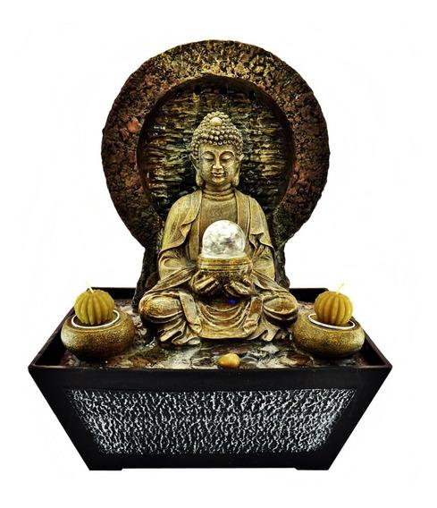 Fuente De Agua Buda Deco Moderno Budismo Feng Shui Zen Relajacion Exterior Interior 306.1151008