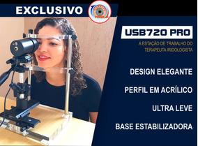 Aparelho Irismacro Usb 720 + Software Iridologia Laudos