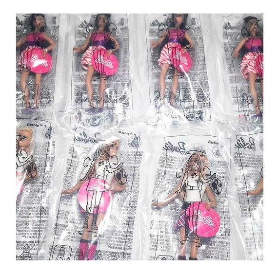 Lembrancinhas Aniversário Barbie Brinquedo Mc Donalds