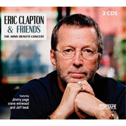 Eric Clapton - The Arms Benefit Concert / Com 2 Cds Raro