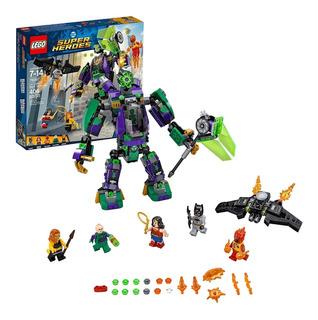 Lego Dc Comics Super Heroes Lex Luthor Pelea En Mech 76097
