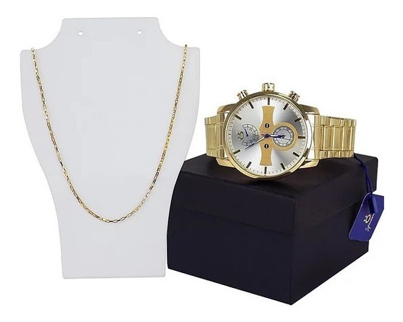 Relógio + Corrente