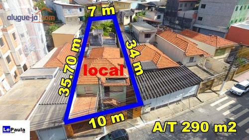 Imagem 1 de 11 de Terreno À Venda, Zona Leste, Metrô Guilhermina, Vila Granada. - Te1066