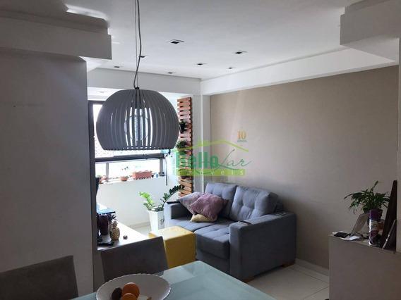Apartamento Com 2 Dormitórios Para Alugar, 45 M² Por R$ 2.200/mês - Madalena - Recife/pe - Ap9977
