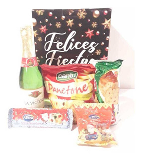 Caja Navideña Clasica/ 5 Productos Stock Disponible