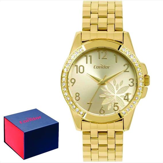 Relógio Condor Feminino Original C/garantia Nf Co2035moz/4d